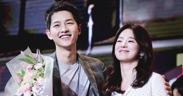 Fan réo tên cặp đôi Song - Song khi nhạc phim Hậu duệ mặt trời được vang lên trên show thực tế