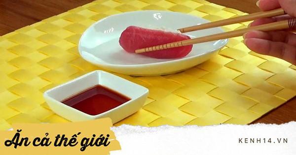 Đầu bếp người Nhật nổi tiếng tiết lộ cách ăn sushi hoàn hảo nhất