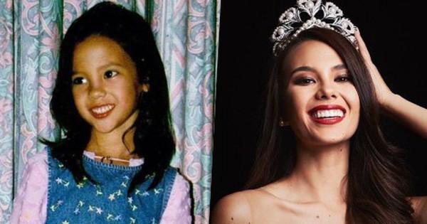Hành trình dậy thì thành công từ thời thơ bé cho tới khi trưởng thành của Tân Hoa hậu Hoàn vũ 2018