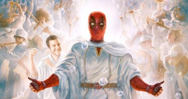 """Bạn có phát hiện ra """"quả trứng phục sinh"""" về John Wick trong poster phim Deadpool Giáng Sinh không?"""