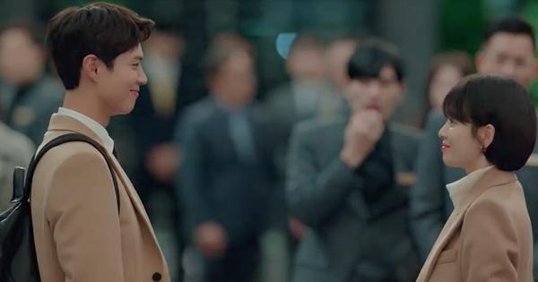 Phân cảnh lãng mạn nhất ''Encounter '' tuần này: Park Bo Gum giải cứu ''chị crush'' Song Hye Kyo bằng... mì ly ở cửa hàng tiện lợi