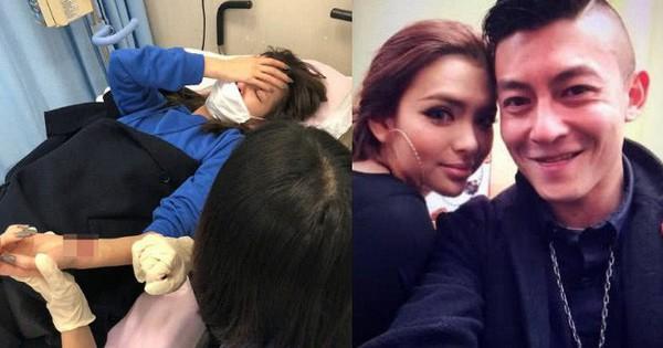 Bị phát hiện ngoại tình với Trần Quán Hy, mẫu nữ bốc lửa Hong Kong cắt cổ tay đòi tự sát?