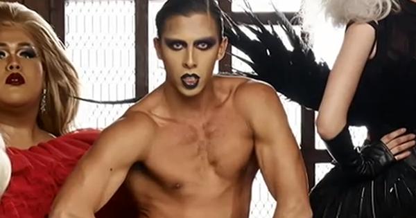 """Bạn có nhận ra 2 anh chàng 6 múi đầy nam tính của """"The Face Thái"""" trong tạo hình Drag Queen?"""