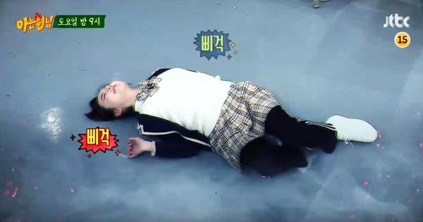 """Sohee tái hiện lại phân đoạn hóa zombie trong """"Train To Busan"""""""