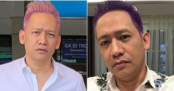 """Duy Mạnh tiếp tục màn """"make-over"""" cực ấn tượng khi đổi màu tóc hồng sang tím!"""