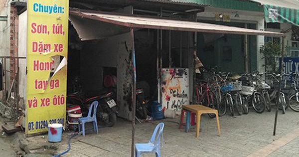 Đồng Nai: Nhóm thanh niên đập phá, ném bom xăng đốt tiệm sửa chữa xe máy trong đêm