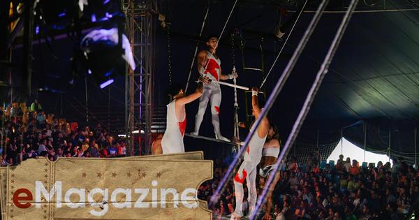 Tưởng đã quên lãng, nhưng Xiếc vẫn trở lại mạnh mẽ giữa Sài Gòn: Khán giả ngồi kín rạp, tiếng vỗ tay không ngớt