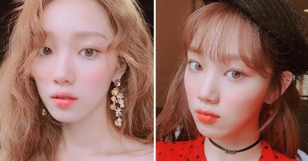 """Muốn tút tát nhanh mà vẫn long lanh: nàng lười hãy học ngay công thức makeup 3 bước """"thần thánh"""" của Lee Sung Kyung"""