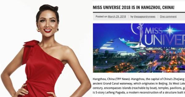 H'Hen Niê sẽ dự thi Hoa hậu Hoàn vũ 2018 ở Trung Quốc, nơi U23 đã từng làm nên kỳ tích rực rỡ?