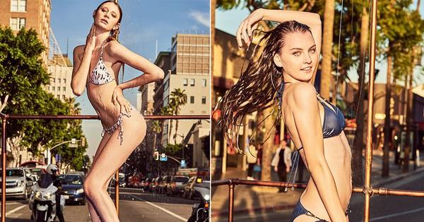 """""""Next Top Đức"""" đưa thí sinh ra ngoài đường… tắm rồi chụp hình"""