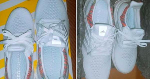 """Đắng lòng thanh niên đặt hàng qua mạng rồi nhận 2 chiếc giày """"cọc cạch"""", lệch hẳn 2 size"""