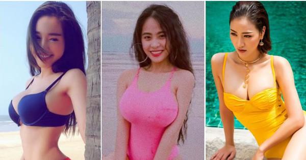 """Những bà mẹ bỉm sữa sở hữu vòng một """"khủng"""" của showbiz Việt"""