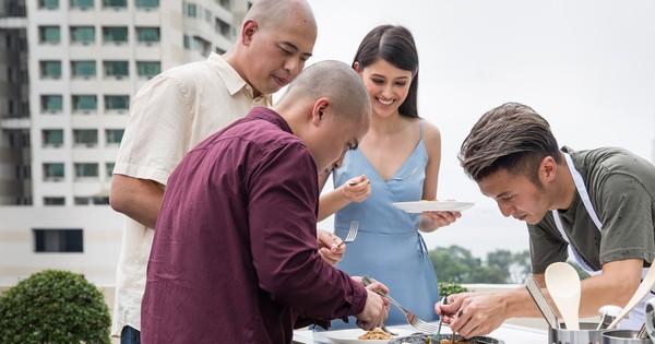 Bị quán quân Next Top châu Á chấm điểm thấp, Tạ Đình Phong nếm mùi thất bại đầu tiên trong show nấu ăn