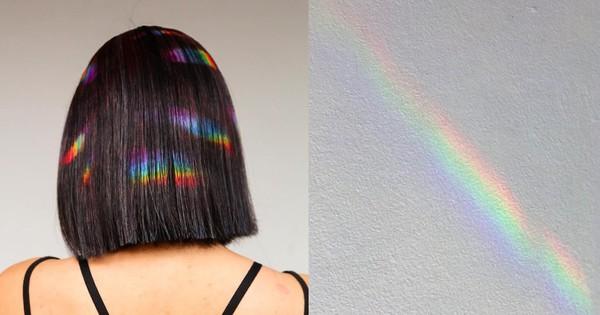 Ánh cầu vồng đang phản chiếu trên tóc ư? Không, đây là trend tóc nhuộm mới nhất đấy các bạn