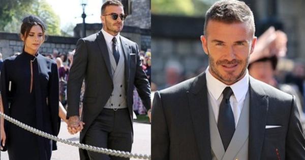 Vợ chồng Beckham quá đẹp và sang chảnh, chiếm trọn spotlight của dàn khách mời tại đám cưới Hoàng gia