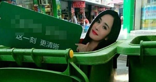 Xung đột với fan Triệu Lệ Dĩnh, ảnh Dương Mịch bị anti fan thẳng tay vứt vào thùng rác