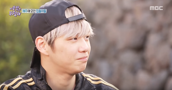 """""""Center Quốc dân"""" Kang Daniel để lộ làn da kém mịn màng khi khoe mặt mộc trên show thực tế"""