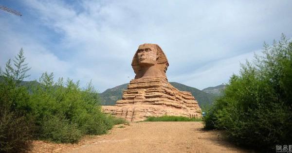 Ai Cập đệ đơn khiếu nại lên UNESCO vì Trung Quốc lại lén xây tượng nhân sư fake 1 to đẹp hơn cả bản gốc