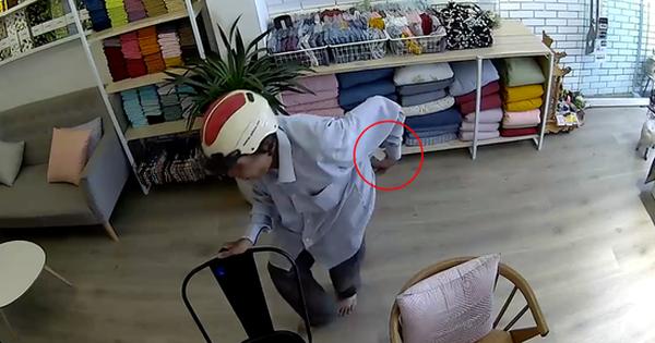 Hà Nội: Người đàn ông vào hỏi mua chăn đệm rồi tiện tay đút túi chiếc iPhone của nhân viên cửa hàng