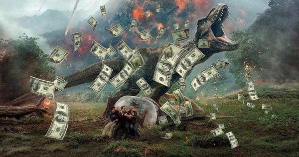 Khủng long thống trị phòng vé Bắc Mỹ với 150 triệu đô mở màn