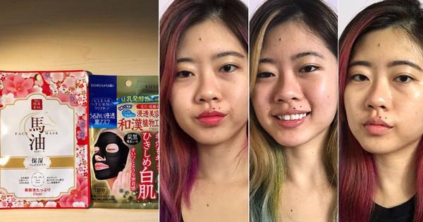 """Một tuần liền đắp 2 miếng mặt nạ mỗi ngày, cô nàng này đã rút ra kết luận không thể """"đau thương"""" hơn"""