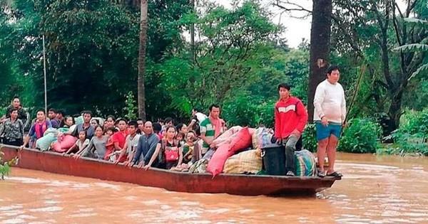 Vỡ đập thủy điện ở Lào: Chính quyền nỗ lực đẩy nhanh tiến độ cứu hộ
