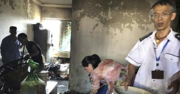 Trung Quốc: Cậu bé 5 tuổi lấy bật lửa dọa chó, chẳng may lỡ tay đốt luôn nhà