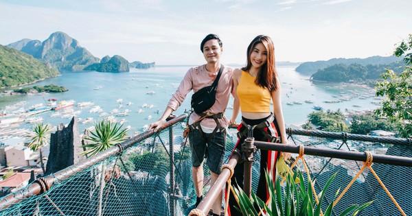 Theo chân Quang Vinh, Diễm My 9x khám phá thiên đường biển El Nido, Philippines