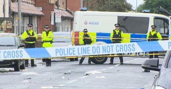 Xả súng ở Manchester (Anh), 10 người bị thương