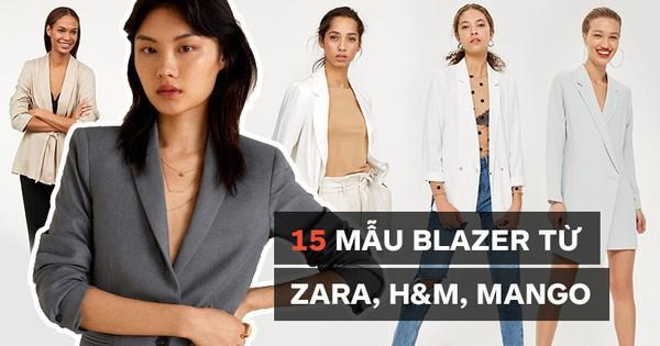 15 mẫu áo blazer của Zara, H&M… thanh lịch mà cực kỳ cá tính dành cho nàng công sở khi thời tiết đang chuyển từ hè sang thu
