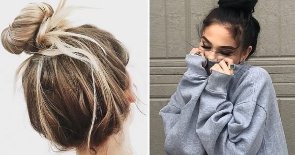 Không phải kiểu gì cầu kỳ, tóc búi lười biếng đậm chất ''mẹ bổi'' mới là trend các nàng đang mê nhất
