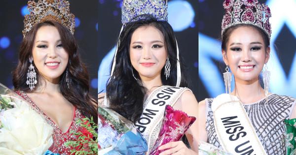 """""""Ế"""" như thi Hoa hậu tại Hàn: 3 cuộc thi gộp chung, 2 trong 3 đại diện đăng quang bị chê bai thậm tệ về nhan sắc"""