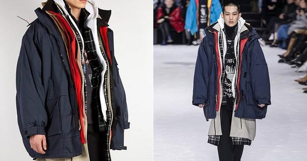 Xếp chồng 7 chiếc áo khoác lên nhau và thế là Balenciaga đã có ngay thiết kế trị giá 150 triệu đồng