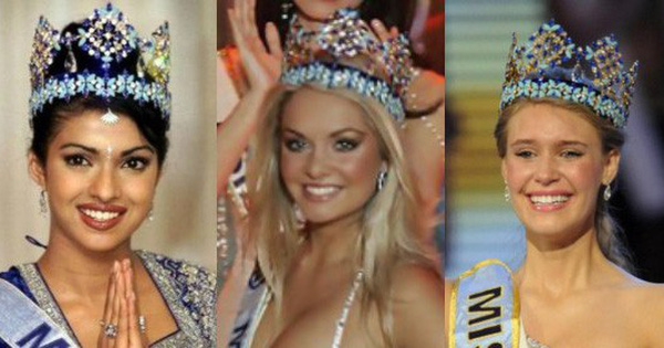 Chiêm ngưỡng nhan sắc của 3 người đẹp từng đăng quang Hoa hậu Thế giới ở tuổi 18