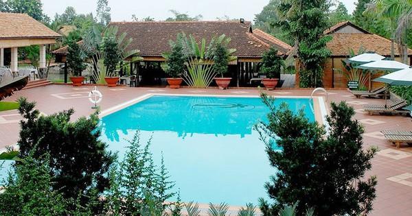Hóng gió ngoại thành tại khu nghỉ dưỡng Villa H2O