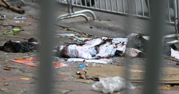 Phát hiện 2 vật thể nghi sọ người chết trong vụ cháy dãy trọ cạnh viện nhi Trung ương