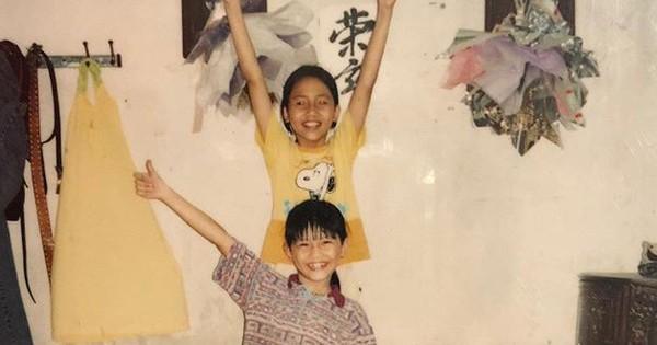Bất ngờ với hình ảnh đáng yêu thuở nhỏ của cặp chị em Á Hậu Thanh Tú – Trà My