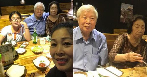 """NSND Hồng Vân tự nhận như """"trẻ con"""" khi sang Mỹ thăm con gái vẫn còn mất ngủ vì nhớ bố mẹ ở nhà"""