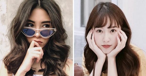 Hot girl châu Á đổi tóc dịp năm mới: người cắt mái xinh ngất, người xén cả chục centimet tóc, người giữ khư khư tóc dài
