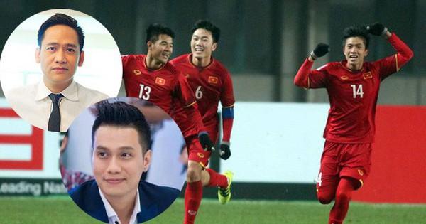 """""""Không thể tin được!"""" – Đó là biểu cảm của tất cả sao Việt trước chiến thắng lịch sử của đội tuyển Việt Nam trước U23 Qatar"""