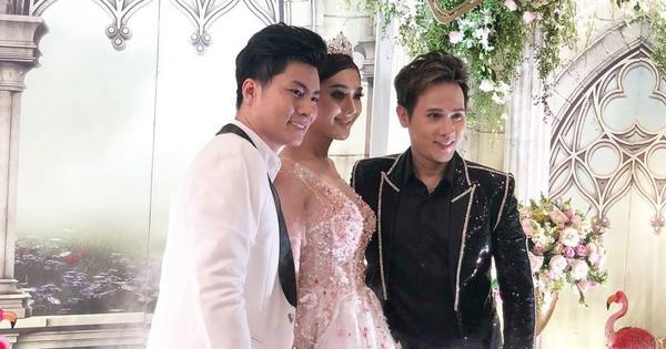 Lâm Khánh Chi tổ chức tiệc kỷ niệm 1 năm đám cưới hoành tráng, tiết lộ tên con trai đầu lòng