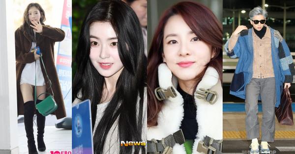 Nữ thần Irene đẹp xuất thần nhưng spotlight lại thuộc về Taeyeon chân dài khó tin và Dara đẹp đỉnh cao