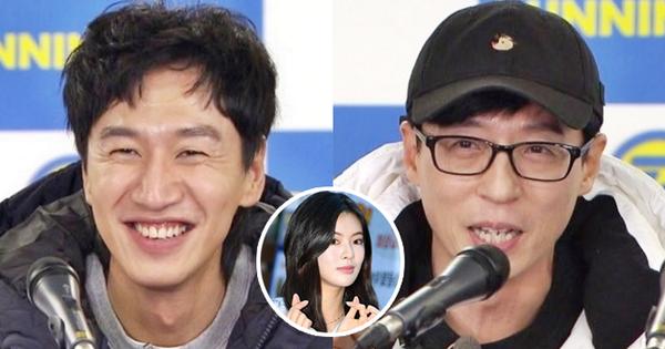 Lee Kwang Soo lộ diện trong