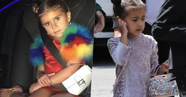 Chẳng phải Suri hay Harper, các bé gái nhà Kardashian mới là