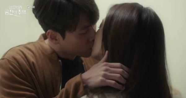 """Park Shin Hye khóc tiễn lâm li như thể Hyun Bin sắp ra chiến trường ở """"Hồi Ức Alhambra"""""""