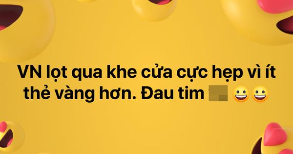 Dân mạng vỡ oà vì đội tuyển Việt Nam lọt qua khe cửa hẹp để vào vòng 1/8 tại Asian Cup