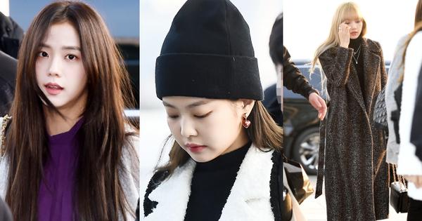 Lộ diện sau ''phốt'' lộ Facebook tục tĩu, Jennie liên tục cúi gằm mặt, Black Pink buồn bã và mệt mỏi tại sân bay