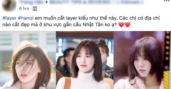 """Netizen Hàn - Việt đều muốn đi cắt tóc giống Wendy (Red Velvet) vì thấy cô """"lột xác"""" quá thành công"""