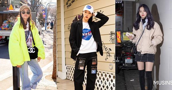 Street style giới trẻ Hàn tuần qua chính là nguồn cảm hứng bất tận cho các cô nàng 'anti' phong cách bánh bèo