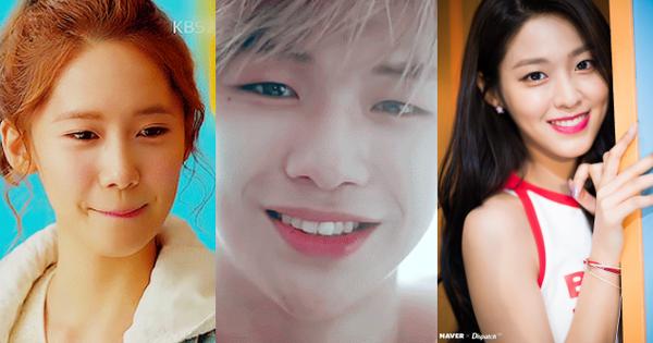 21 idol Hàn may mắn sở hữu lúm đồng tiền duyên hết phần thiên hạ: Người thêm xinh, người nâng tầm nhan sắc